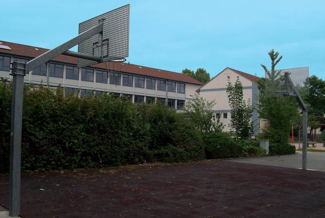 Basketballfeld 06.2006
